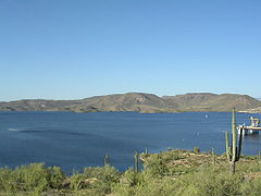 Scuba diving Lake Pleasant