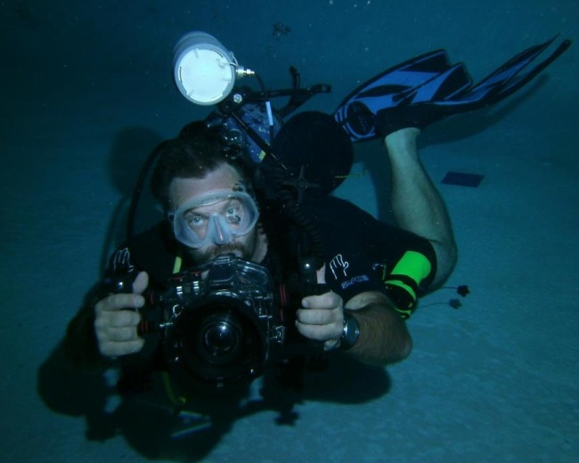 Underwater Photography Class at Academy of Scuba