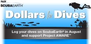 Scuba Earth Dollars for Dives
