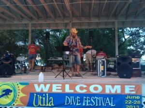 Pup Morse at the Utila Dive Festival