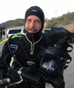 Dive full face mask with Academy of Scuba